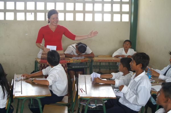 Praktikum als Lehrerin in einer Dorfschule in Ecuador