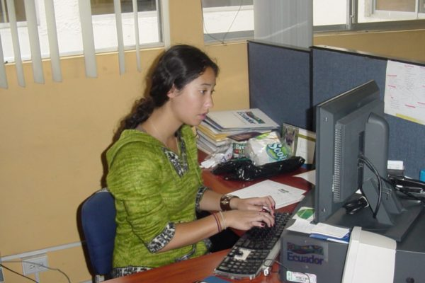 Translation internship in Quito at the Ministry of Tourism