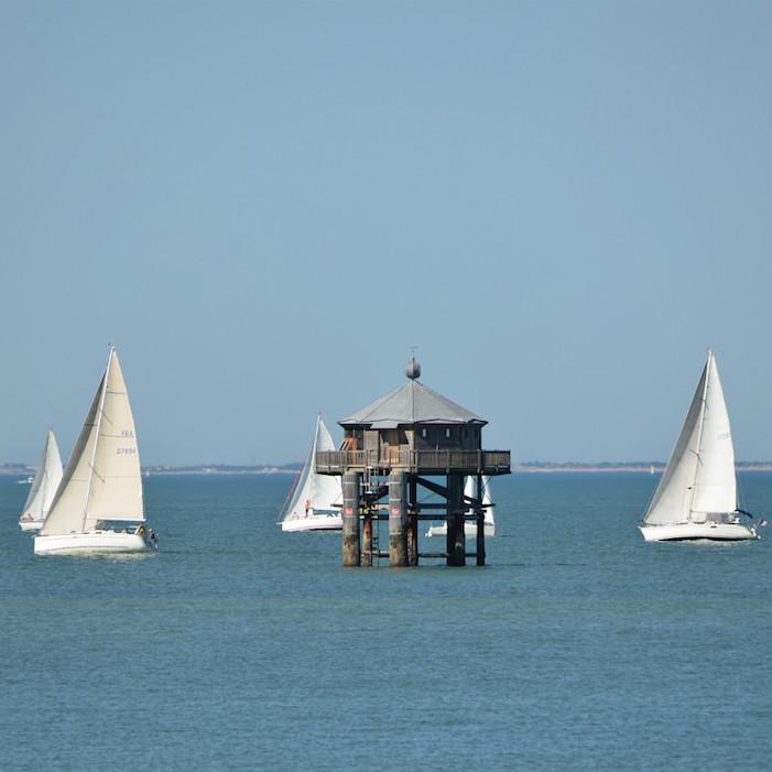 Familiensprachreisen Frankreich Französisch Meer bei La Rochelle