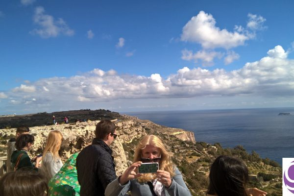gse-malta-social-programme-students-at-dingli-cliffs