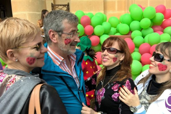 gse-malta-social-programme-students-at-the-annual-strawberry-festival-in-mgarr-malta-2