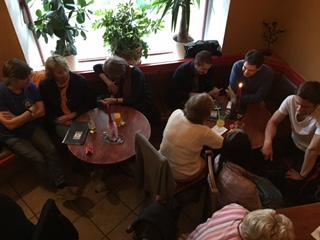 Teilnehmer Sprachencafe Berlin organisiert von Edu-Seasons Sprachreisen