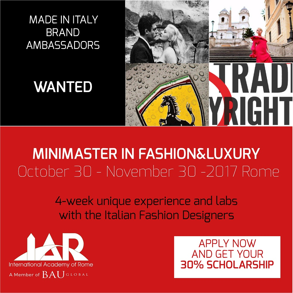 Mini Master Fashion Design Suche nach Brand Ambassadors