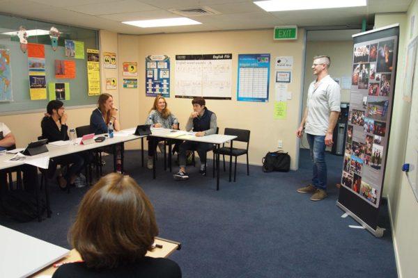 Unterrichtsraum Sprachschule