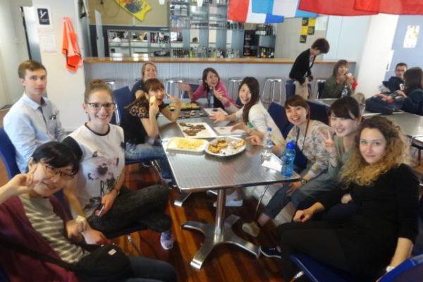 Lunch Sprachschule