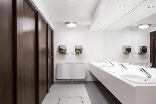 Brighton Sprachschule Toiletten