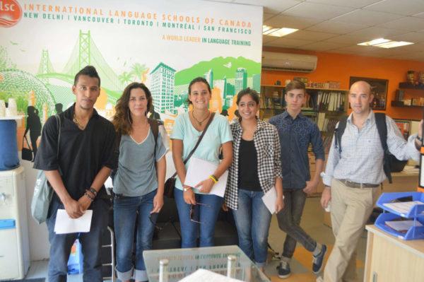 Teilnehmer Sprachkurs Englisch an Sprachschule in Indien