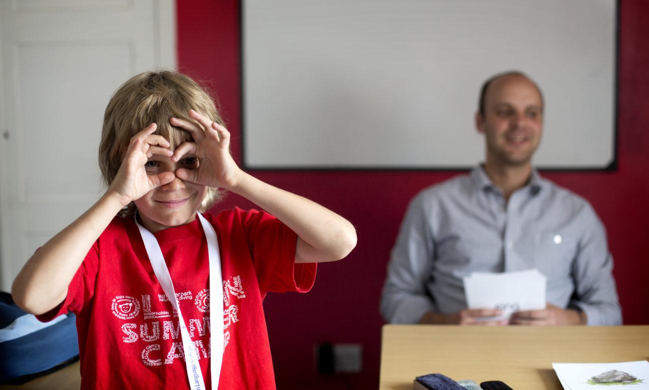 Englisch lernen Kinder als Vorbereitung auf Sprachreise