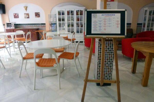 Frühstücksraum Sprachschule Nerja