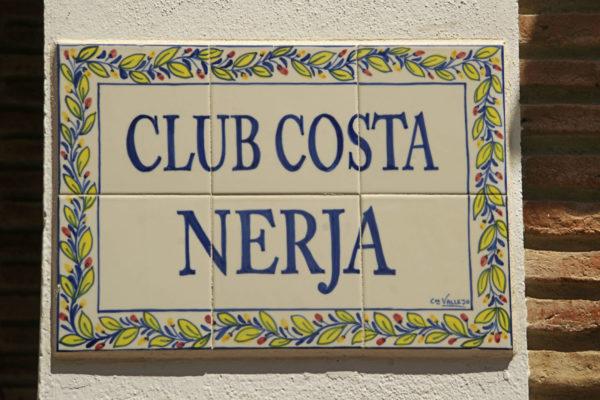 "Spain-Andalusia-Malaga- ""Club Costa Nerja"", at the ""Escuela de Idiomas Nerja"" (Language school), at Nerja."