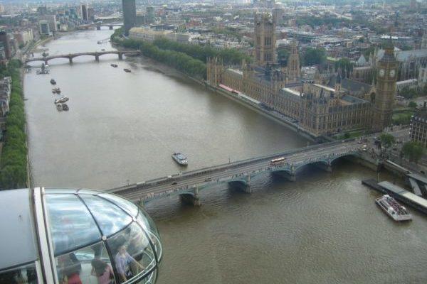 Schüler auf einem Ausflug Sprachreise London