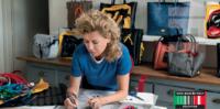 Ilaria Fendi beim Mode designen