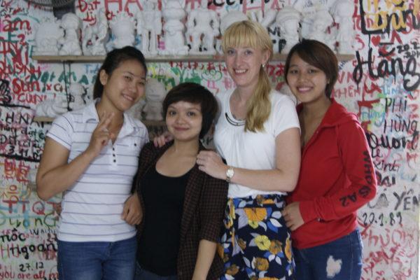 Edu-Seasons Teilnehmerin Hanoi