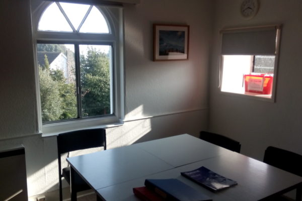 Torquay Sprachschule Klassenzimmer