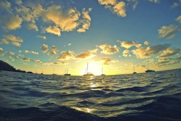 Schöner Sonnenuntergang Australien Sprachreise 30 Plus