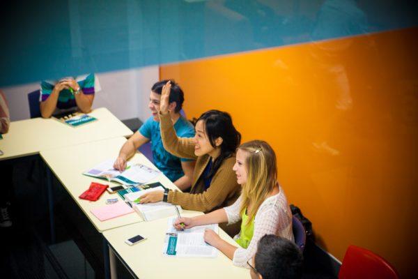 Langports Brisbane Campus Klassenraum