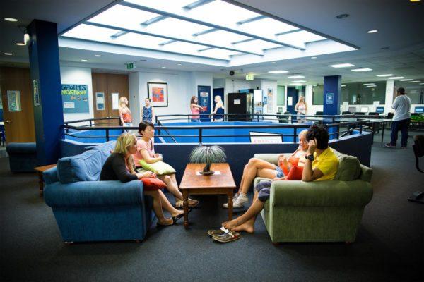 Student Lounge Sprachschule 30 plus Australien