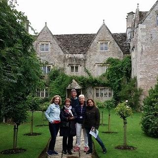 Gruppe Sprachreisen 40+ in englischem Garten