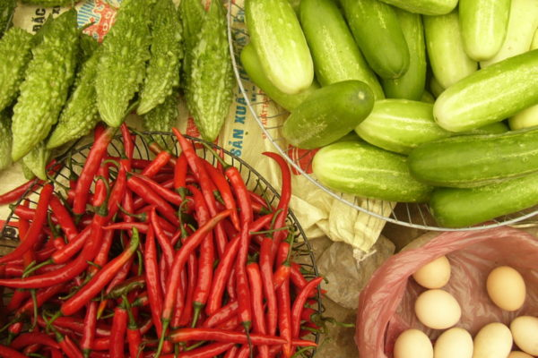 Marktalltag Vietnam