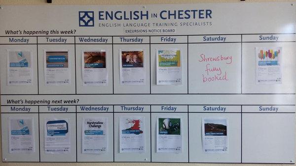 Chester Freizeitprogramm