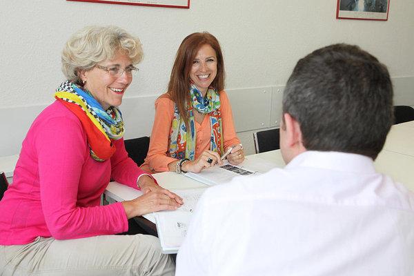 Sprachunterricht 50 plus an Sprachschule