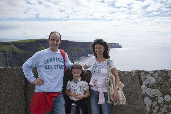 Familie auf Sprachreise in Irland