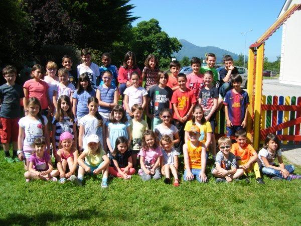 Gruppenfoto kinder sprachschule killarney irland