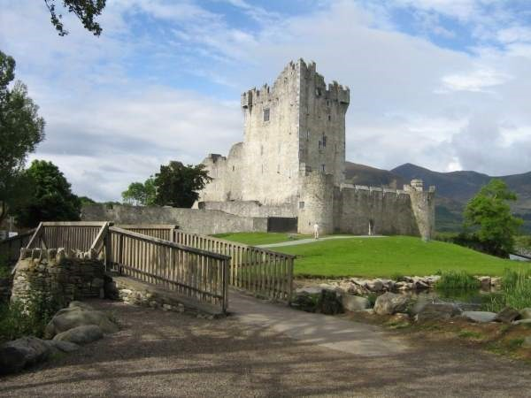 Schloss Irland Sprachreise Exkursion