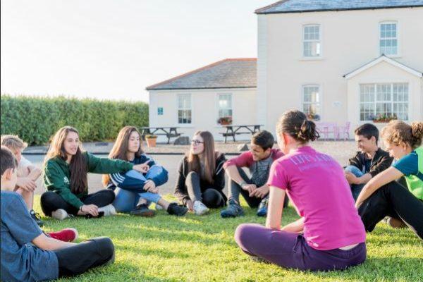 Teenager Sprachschüler in Donegal