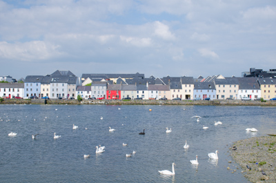 Galway Strandpromenade 50 plus Sprachreise Irland