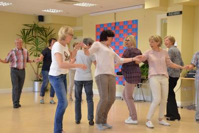 Teilnehmer 50 plus Sprachkurs Englisch Galway Irland