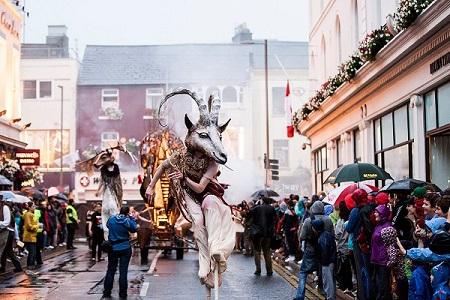 Umzuf auf Arts Festival in Galway