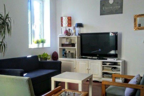 Wohnzimmer bei einer Gastfamilie für eine Sprachreise auf Menorca