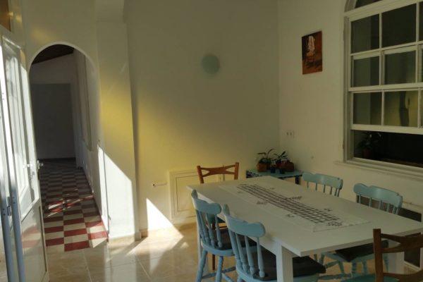 Sprachreise Menorca Appartement Esszimmer