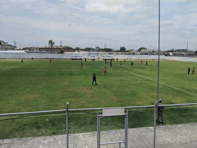 Auslandspraktikum Ecuador Fussballclub el nacional quito auf Auswärtspiel in Guayaquil