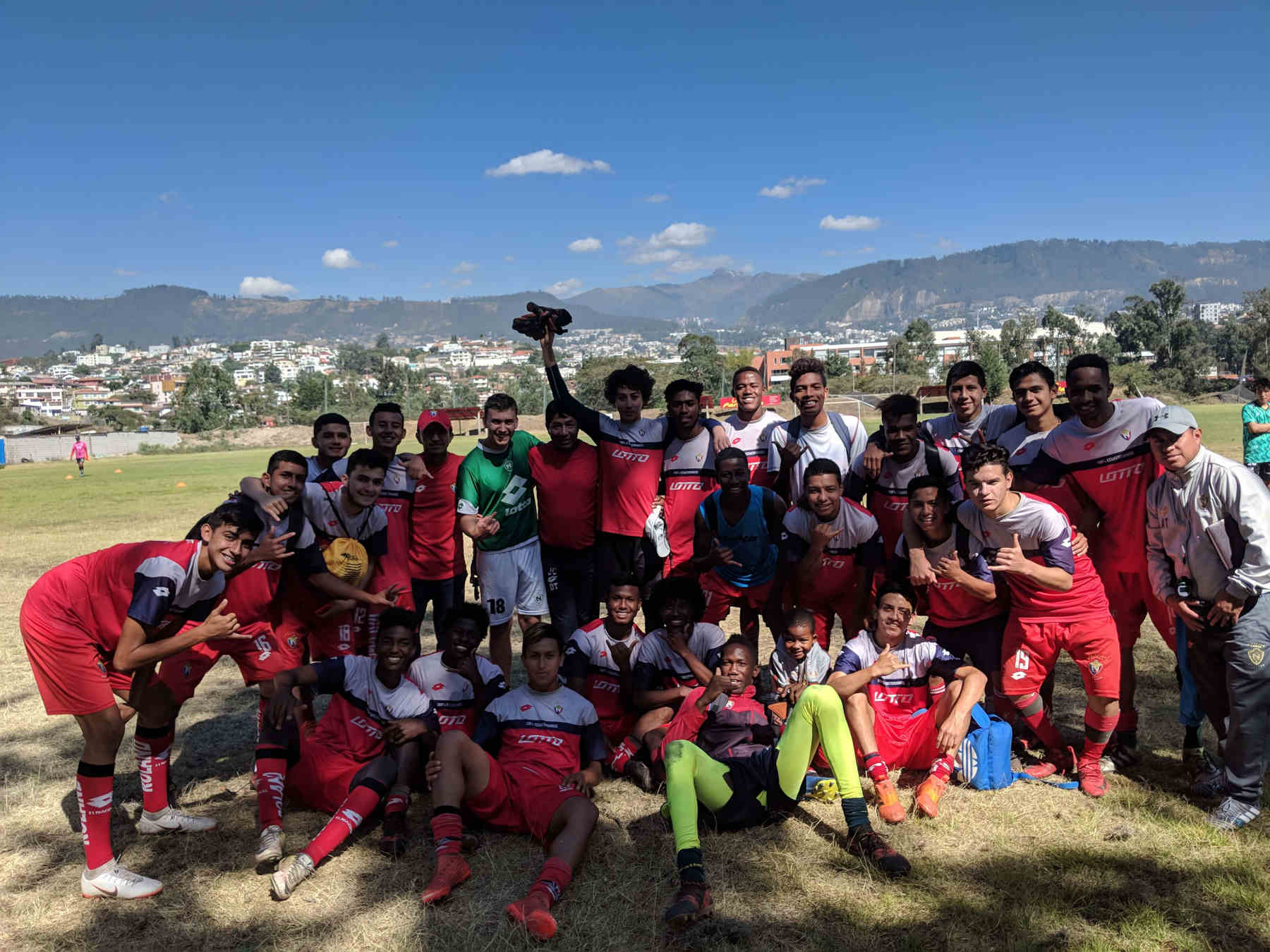 Fussball Ecuador u18 el nacional edu seasons praktikum ecuador
