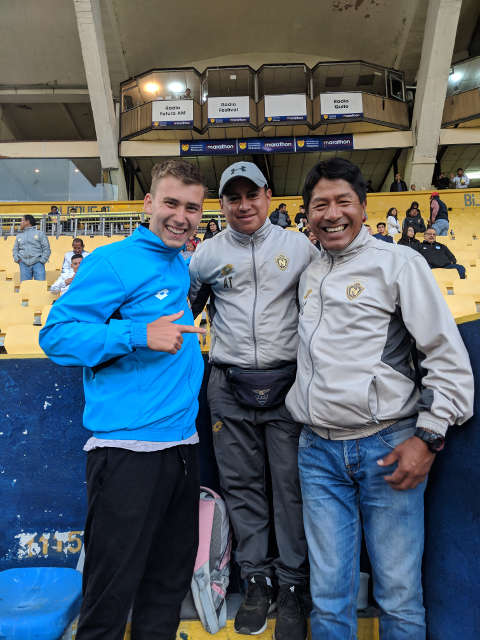Stadionbesuch Sport Fussball Praktikum Ecuador Pichincha