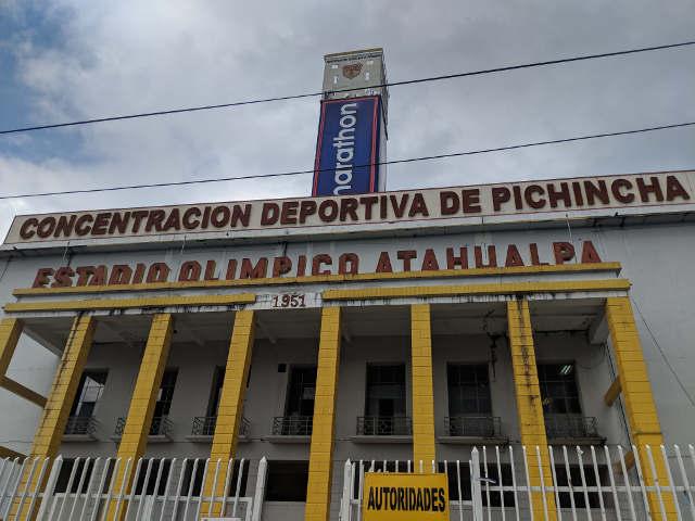 Praktikum Ecuador Estadio Olimpico Pichincha