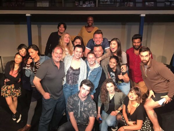 Group photo Acting Certificate LAPAC Los Angeles