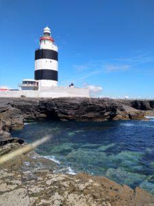 Lieblingsfoto Leuchtturm in Irland von Schuelerin im Familien Sabbatical