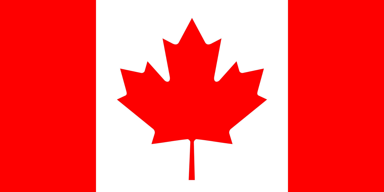 Gap Year Kanada Flagge von Kanada