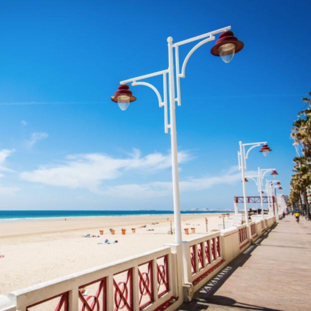 Strandpromenade Cadiz Edu-Seasons Sprachreise 50plus Cadiz