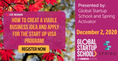 Studium Startup Kanada