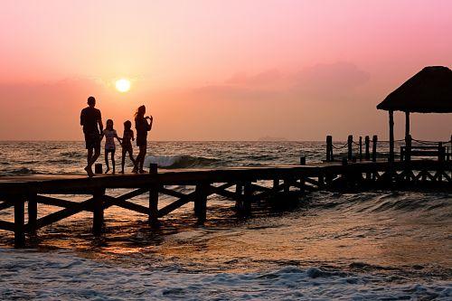 Sabbatical mit Kindern Familienzeit am Strand