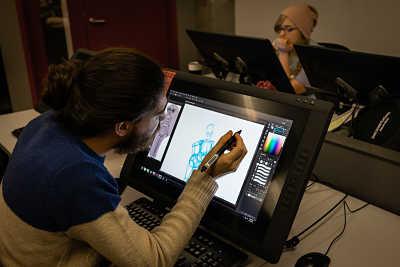 Schauspielschule Vancouver Film School Game Design Vorlesung Animationszeichner